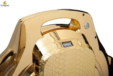 24-Karat Gold Plated Segwheel by Goldgenie