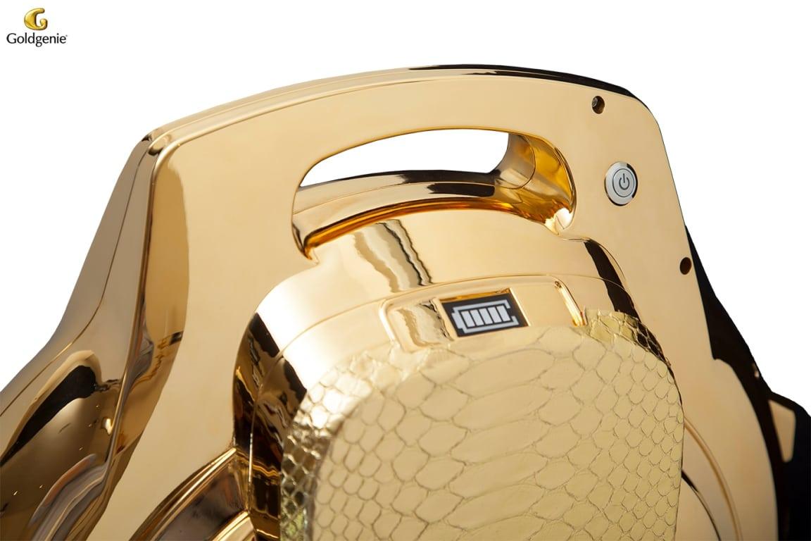 24-Karat Gold Plated Segwheel by Goldgenie