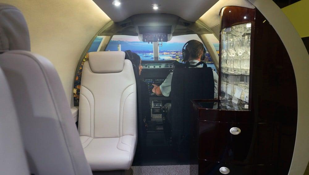 AgustaWestland AW609 TiltRotor Interior 1