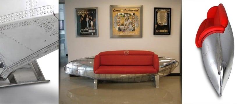 Albatross MotoArt couch