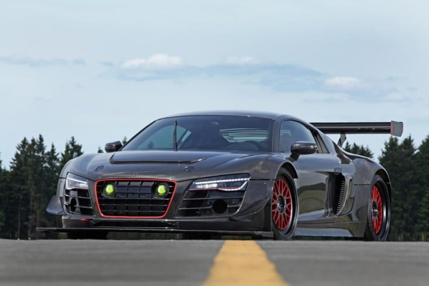 Audi R8 Recon Front View