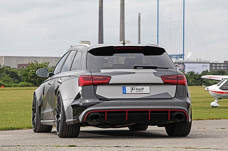 Audi RS6 by Schmidt Revolution Back 2