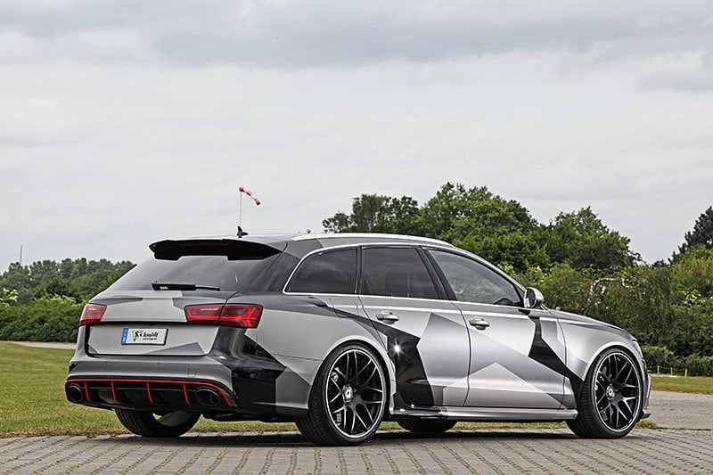 Audi RS6 by Schmidt Revolution Side View