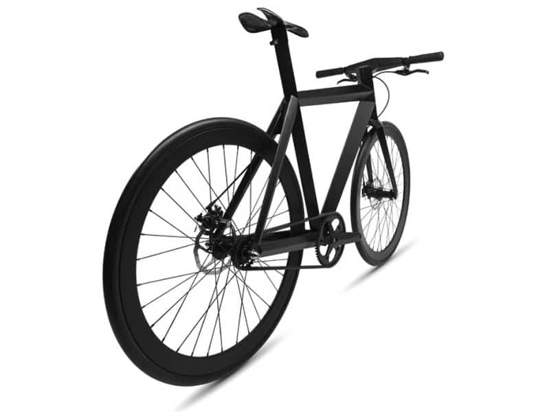 BME Design B-9 NH Black Bicycle Back View