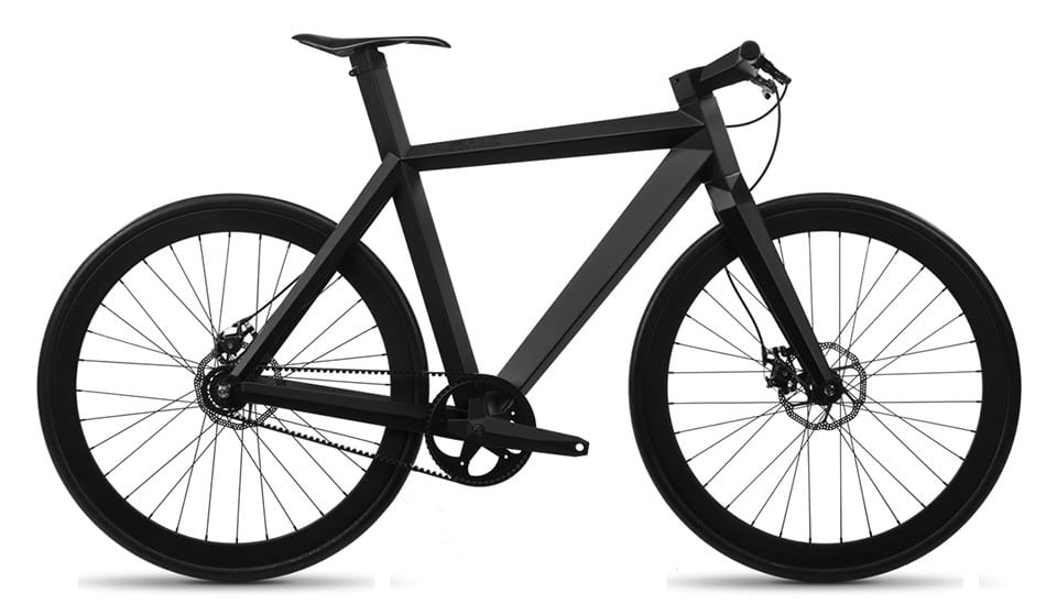 BME Design B-9 NH Black Bicycle Side View