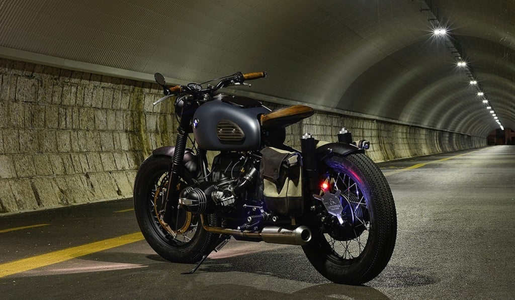 BMW R69S Thompson by ER Motorcycles Back View