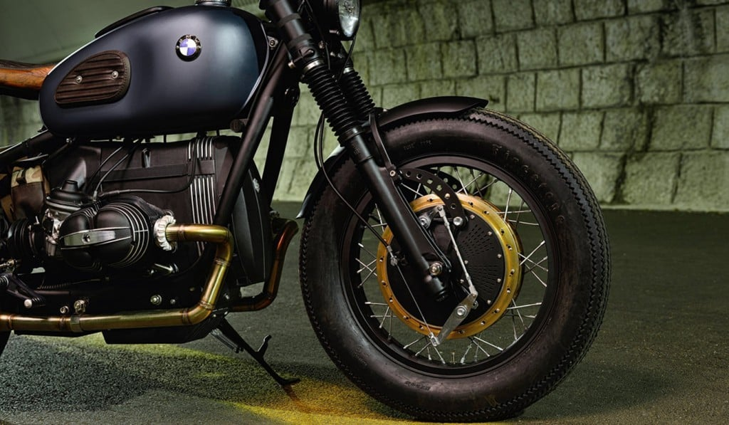 BMW R69S Thompson by ER Motorcycles Tyre