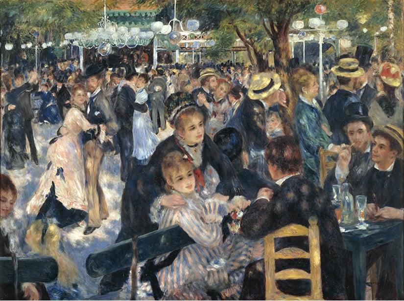 Bal du Moulin de la Galette - Pierre-Auguste Renoir - most expensive Renoir painting