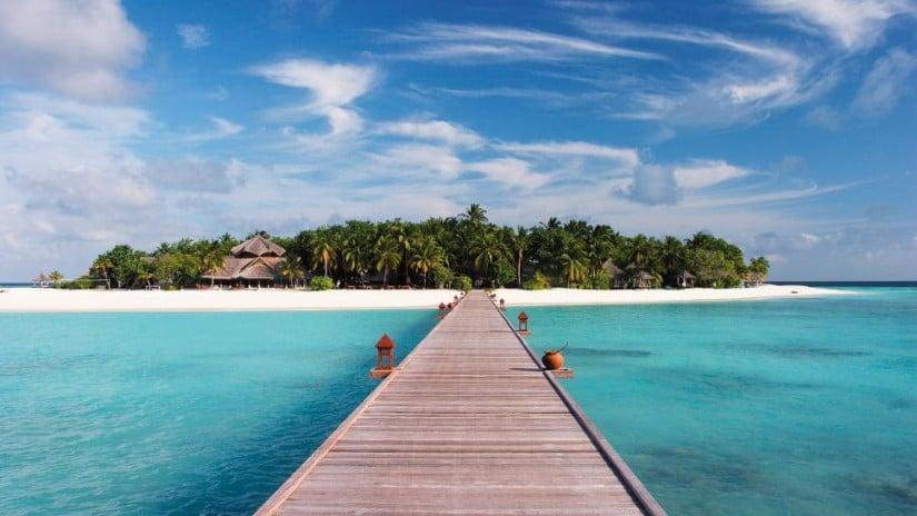 Banyan Tree Maldives Vabbinfaru Panorama