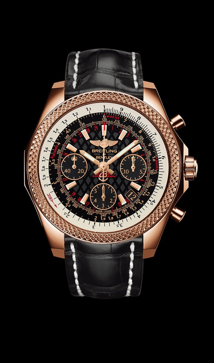 Bentley B06 S Watch Red Gold Case
