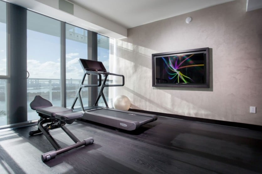 Bentley Bay South Penthouse Gym