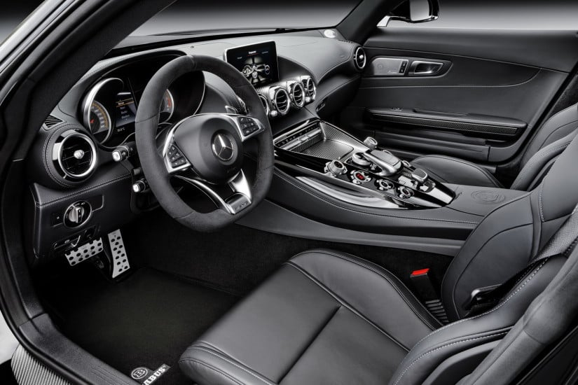 Brabus Mercedes-AMG GT Interior