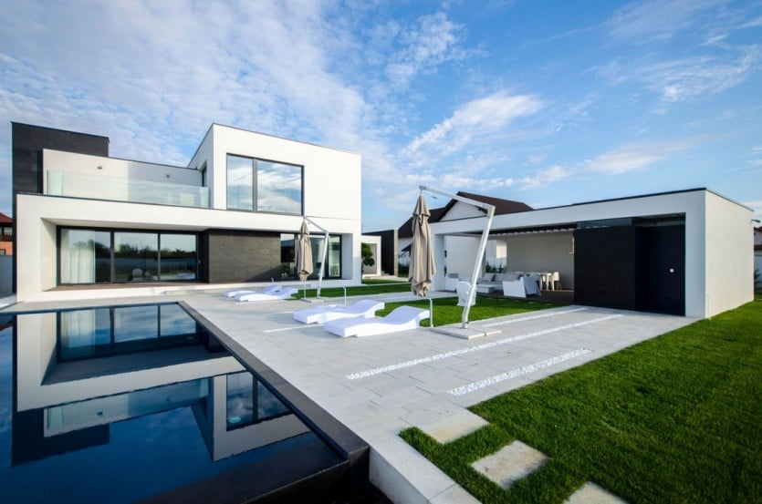 C House Pool Area