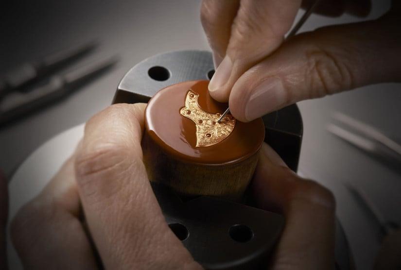 Calibre 4400 d'Art Mécaniques Gravées luxury timepieces