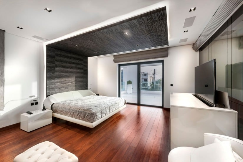 Contemporary Residence Bedroom