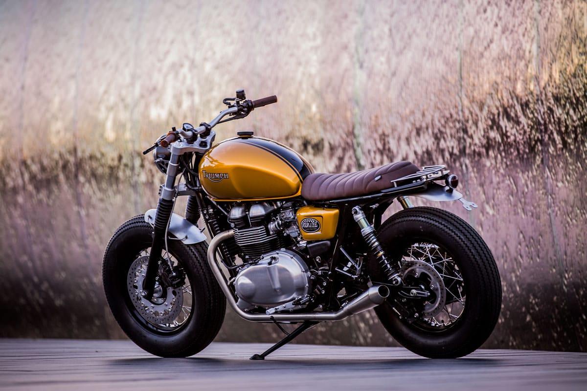 Custom Triumph Thruxton By Down Out Mens Gear