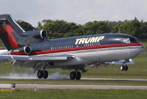Donald Trump's $100M private jet