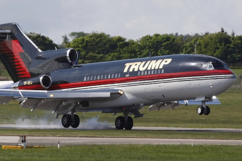 Donald Trump's $100M private jet