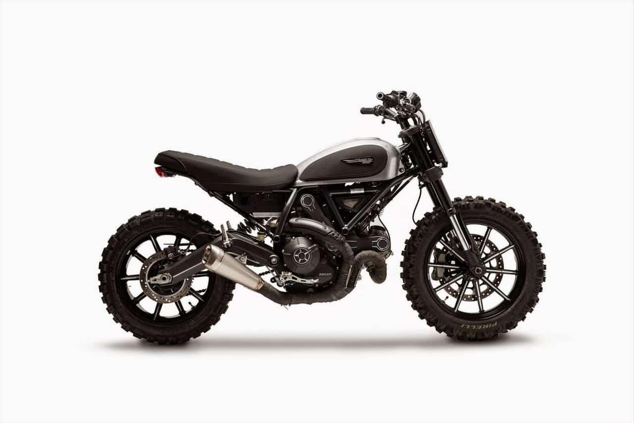 Ducati Scrambler Dirt Tracker Side View