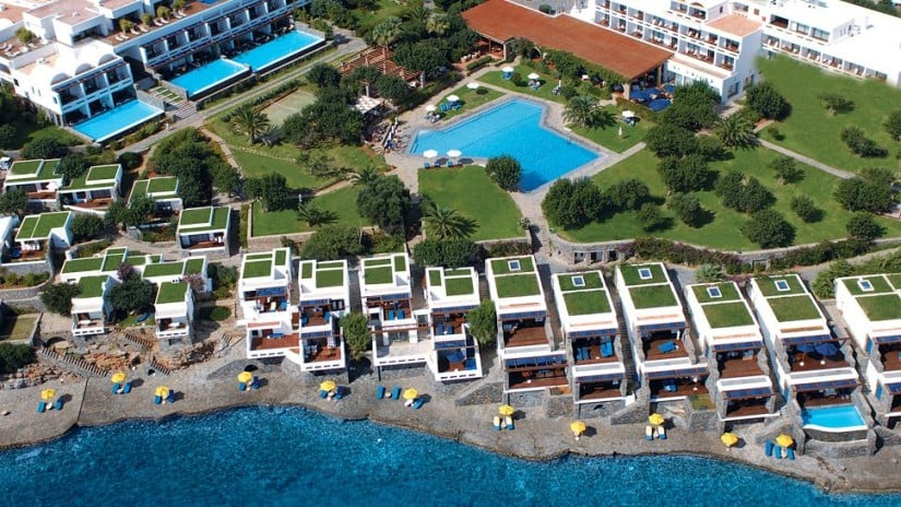 Elounda Beach Hotel & Villas Top View