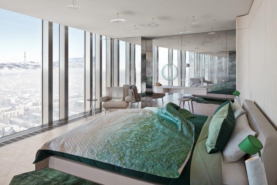 Esentai Tower Luxury Bedroom