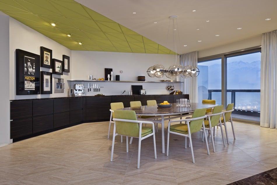 Esentai Tower Luxury Dining Room 1