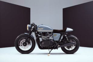 Gorgeous Triumph Bonneville by Bunker Custom Bikes