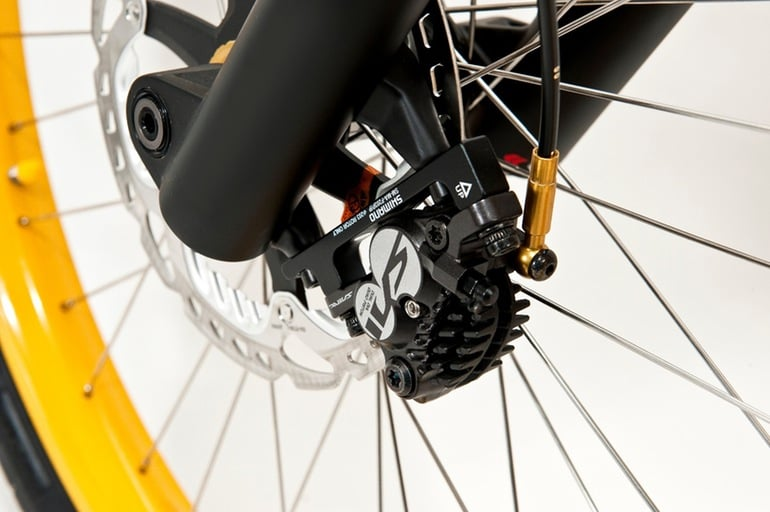 Greyp G12S Electric Bike Hydraulic Caliper