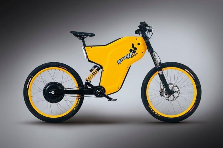 Greyp G12S Electric Bike Side View