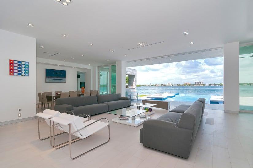 Gross-Flasz Residence Living Room