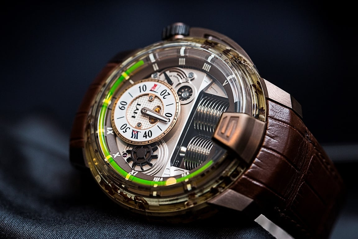 HYT H1 Cigar Watch Dial