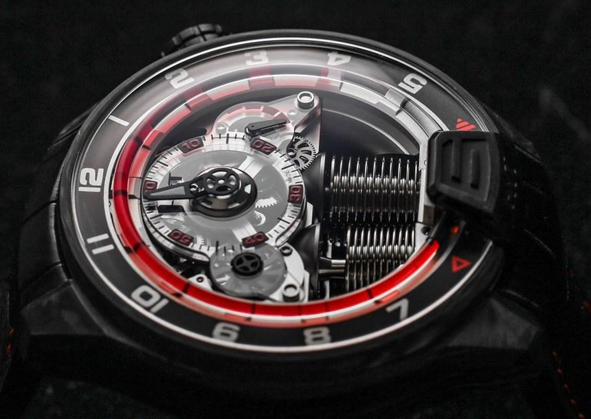 HYT H4 Gotham Luxury Timepiece Dial