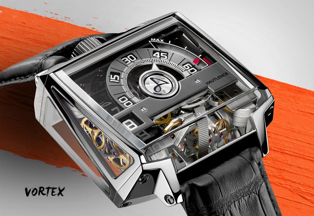 Hautlence Vortex Watch Dial