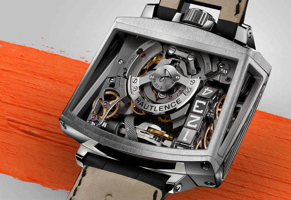 Hautlence Vortex Watch Titanium Case