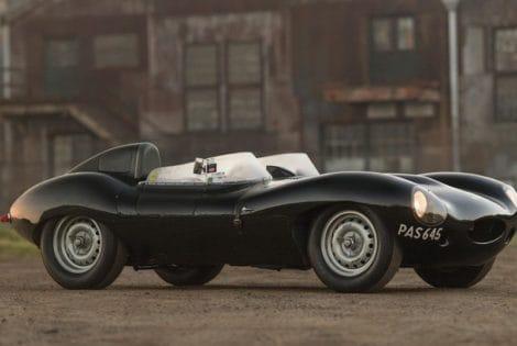 Historic 1955 Jaguar D-Type