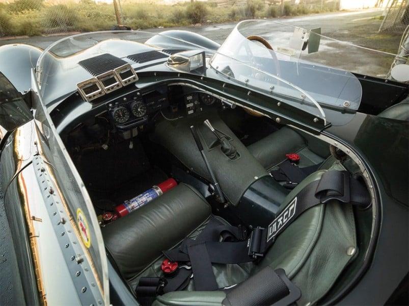 Historic 1955 Jaguar D-Type Interior