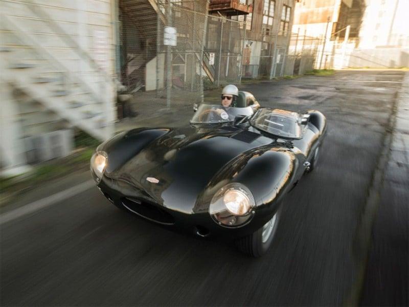 Historic 1955 Jaguar D-Type Sold