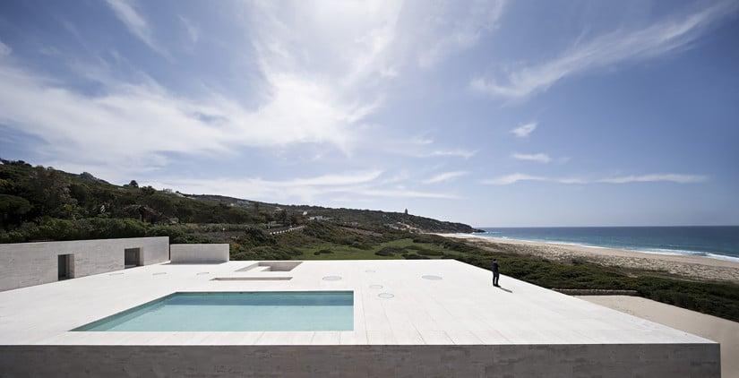 House of the Infinite in Spain Pool