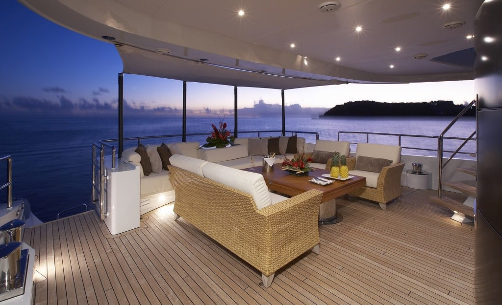 Ilona Luxury Yacht Deck