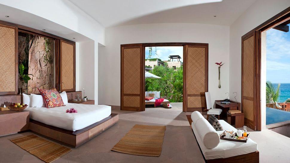 Imanta Resort in Mexico Bedroom