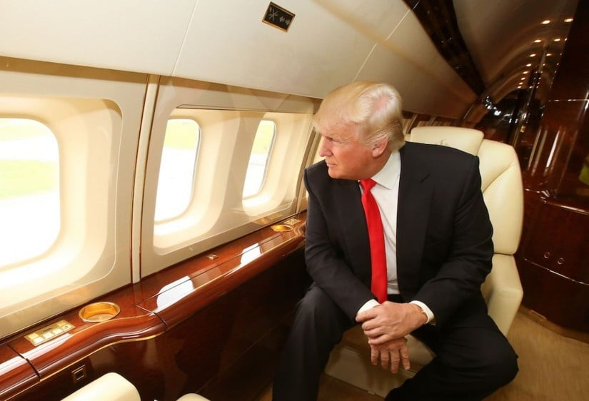 Inside Donald Trumps Jet