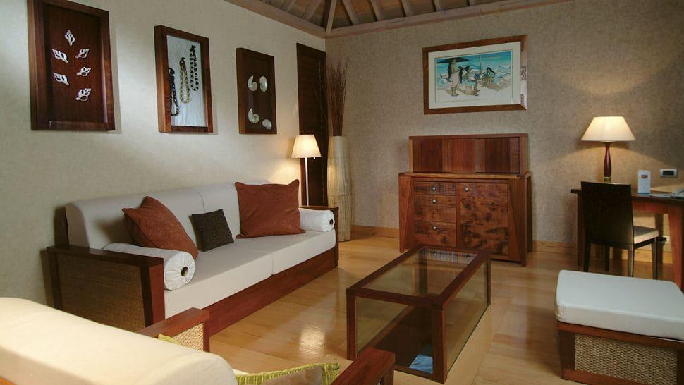 Intercontinental Bora Bora Resort & Thalasso Spa Villa Living