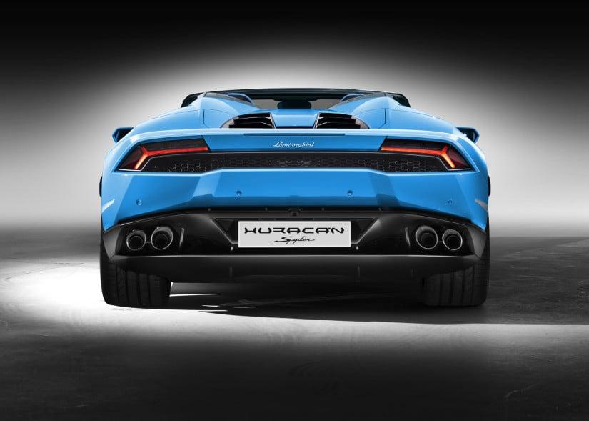 Lamborghini Huracán LP 610-4 Spyder Back