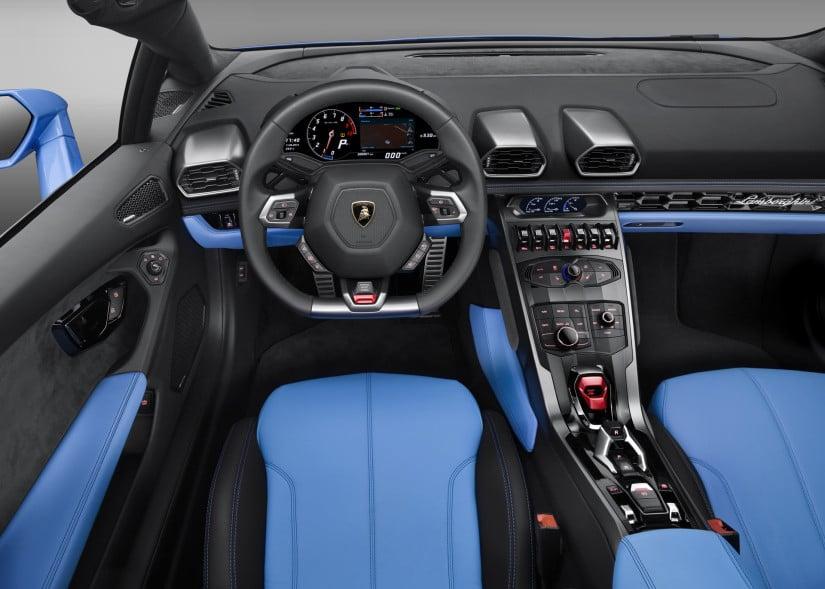 Lamborghini Huracán LP 610-4 Spyder Dashboard
