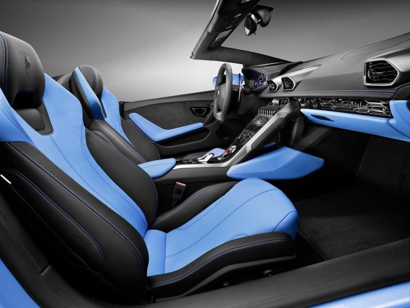 Lamborghini Huracán LP 610-4 Spyder Interior