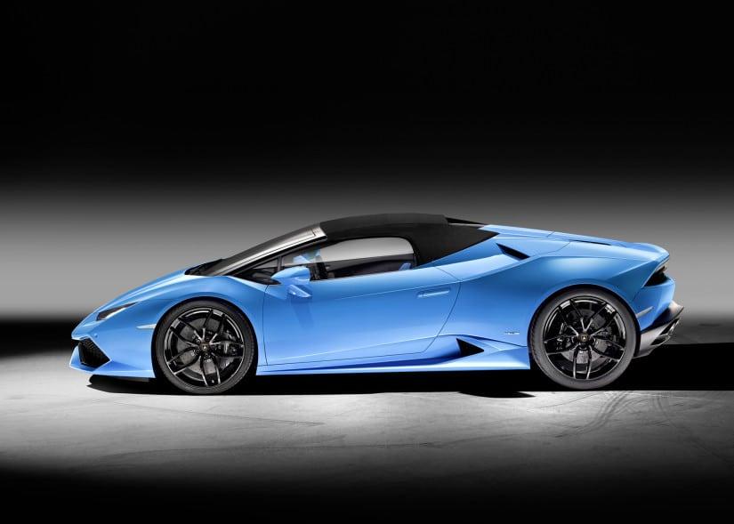 Lamborghini Huracán LP 610-4 Spyder Side View