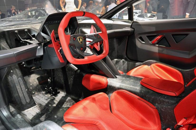 Lamborghini Sesto Elemento Dashboard