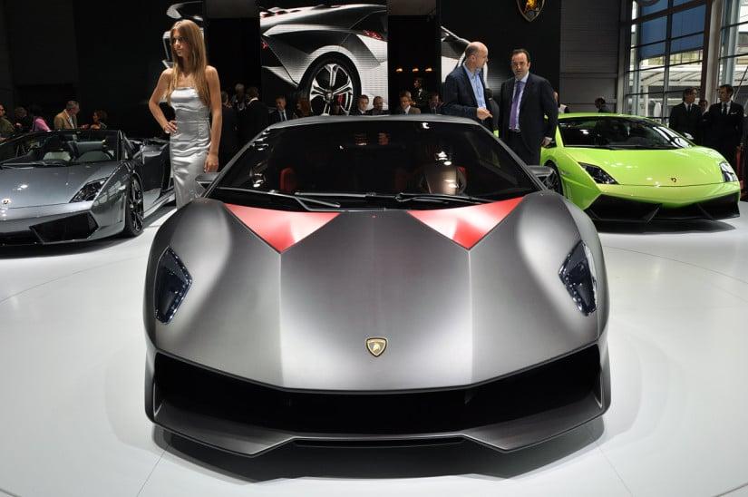 Lamborghini Sesto Elemento Front View