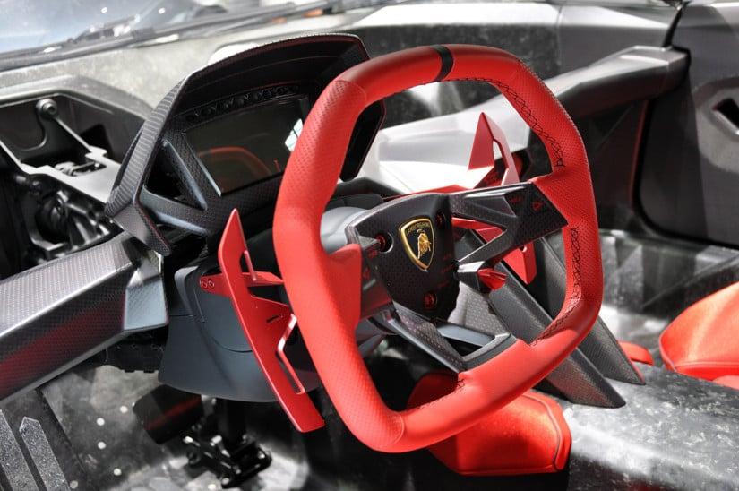 Lamborghini Sesto Elemento Steering Wheel
