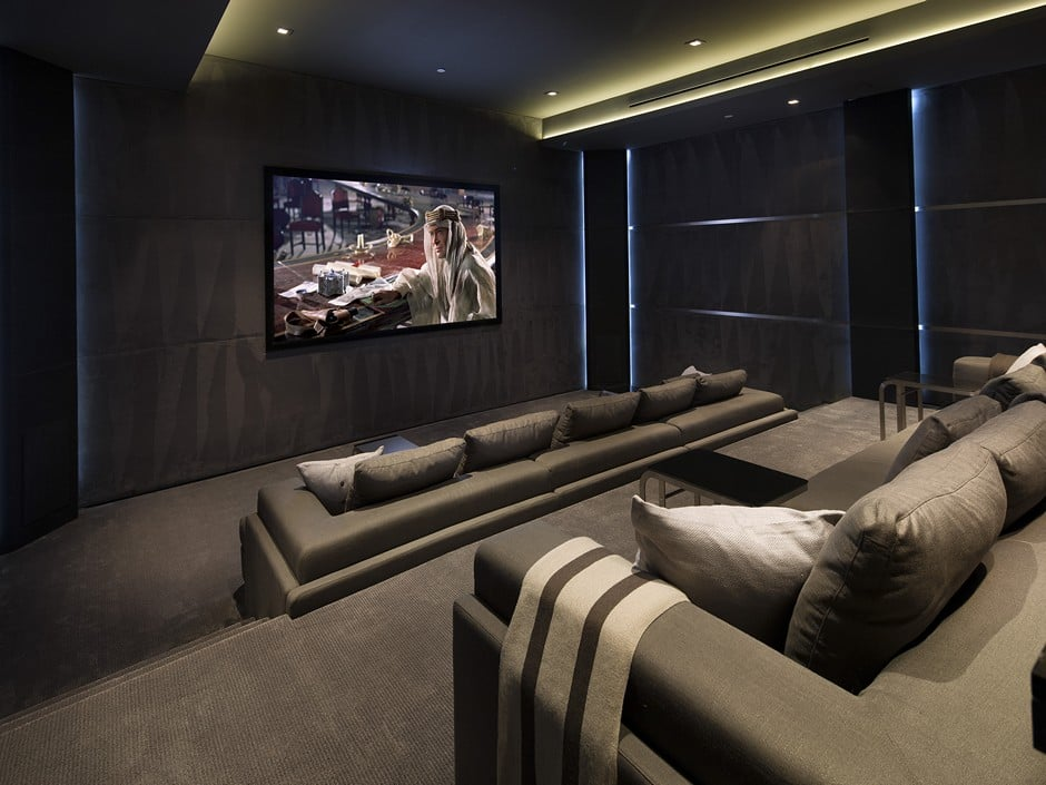 Luxury Home by Studio In-Ex Home Theater 1